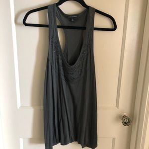Banana Republic dark grey tank top